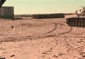 فيديويوضح تفاصيل الحادث الإرهابي الذي وقع في سيناء