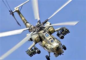 روسيا تسلم العراق أربع مروحيات فتاكة