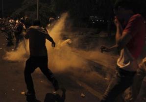 إصابة 2 بينهما مجند في اشتباكات بين الإخوان والشرطة بالسادات