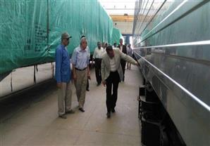 إختبار أول قطار مصري مكيف تم تصنيعه بمصنع سيماف بإيدي المصريين