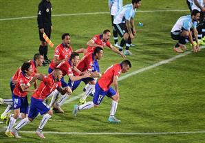 نهائي الكوبا- فرحة تشيلية وحزن أرجنتيني في دراما ضربات الترجيح