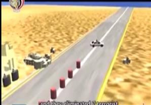 الشئون المعنوية تعرض فيديو توضيحي عن عملية الشيخ زويد