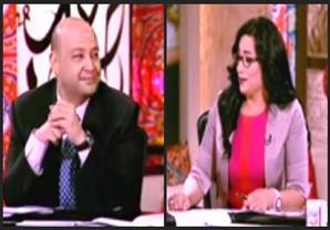 رانيا بدوي لعمرو أديب: صوتك لوحده ازعاج عام ممكن تاخد سنتين سجن