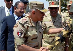 وزيرا الدفاع والداخلية يتفقدان عناصر القوات المسلحة والشرطة بشمال سيناء