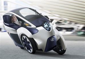 بالصور - تويوتا i-Road الكهربائية .. سيارة مدن المستقبل