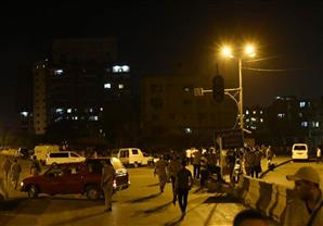 """""""لحظة انفجار مبنى الأمن الوطني تصورها كاميرا """"مهمة خاصة"""
