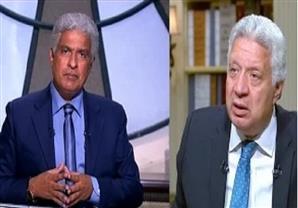 مرتضى منصور للابراشى:أنا مش شايفك.. ايه اللون ده ؟