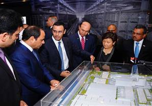 تفاصيل زيارة السيسي لسنغافورة: إنشاء محطة متكاملة لإنتاج المياه والكهرباء بالسخنة