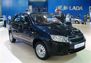 السيارة الروسية لادا جرانتا الجديدة تغزو الاسواق المصرية