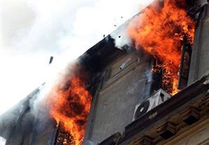 """المعاينة: ماس كهربائي وراء حريق مخزن شركة """"بن لادن"""" في أكتوبر"""