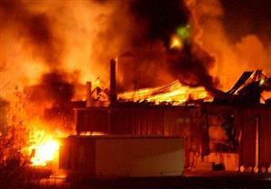 النيران تُنهي حياة مُسن قعيد الفراش داخل شقته بالقليوبية