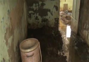 خمس قرى فى المنوفية تغرق فى مياة الصرف الصحي