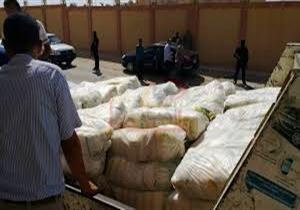 تموين الإسكندرية تلاحق محتكري الأرز والسكر وتضبط 271 طن