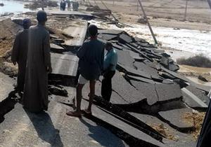 إغلاق 50 كيلو متر بالصحراوي الشرقي في المنيا.. والأمن: منعنا كوارث