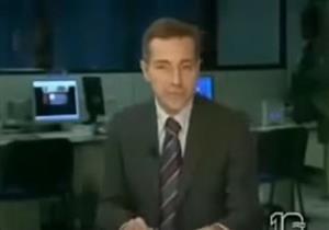 مشاجرة بين معدي نشرة أخبار على الهواء والمذيع يترك مكانه