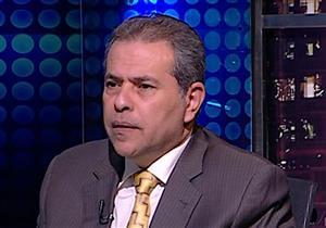 """بالفيديو- عكاشة يعلن إغلاق """"الفراعين"""" بسبب إسرائيل"""