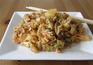 أرز بالمشروم والزبدة - الشيف آيه حسني