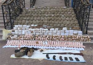 """بالصور..الداخلية تعلن سقوط أخطر تجار المخدرات بـ 3000 """"طربة حشيش"""""""