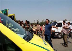 مصرع وإصابة شخصين في حادثين مروريين بالجيزة