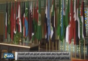"""الجامعة العربية تطالب بإزالة """"لوحة"""" رفعها مندوب إسرائيل بالأمم المتحدة"""