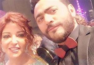 """سميرة سعيد ترقص مع تامر حسني في حفل """"الموريكس"""""""