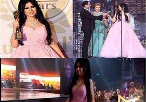 بالفيديو - حليمة بولند تحرج إعلامي لبناني حاول تقبيلها