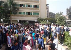 """طلاب بالثانوية العامة يتظاهرون بالأقصر احتجاجا على الغاء امتحان """"الديناميكا"""""""