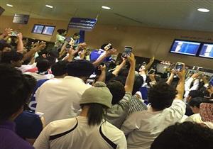 فتاة مخمورة تثير أزمة بمطار الرياض وسط غياب أمني- فيديو