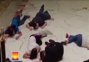 أول فيديو من داخل مول ميونيخ لحظة إطلاق النار وسقوط قتلى ومصابين - فيديو