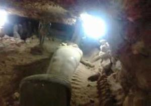 ديلي إكسبرس تنشر فيديو لعملية استخباراتية روسية داخل مقبرة أثرية بالجيزة