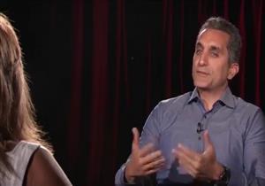 """باسم يوسف: """"أنا مش مناضل والملاحقات الأمنية سبب خروجي من مصر"""" - فيديو"""