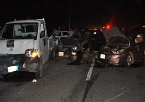مصرع سيدتين وإصابة 7 آخرين في حادث تصادم بالبحيرة