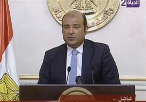 وزير التموين يعلن استقالته على الهواء في مؤتمر صحفي