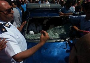 شاهد عيان يكشف مفاجأة في حادث مقتل سائق المعادي على يد أمين شرطة