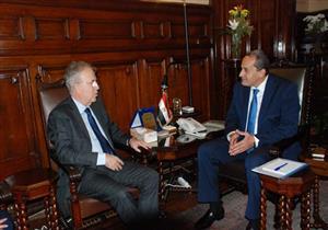وزير الزراعة يستقبل السفير الإسباني بالقاهرة لبحث سبل التعاون بين البلدين