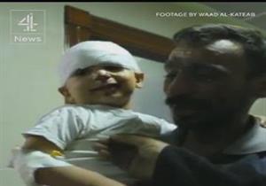 بالفيديو - لحظة عثور أب سوري على طفله المُصاب