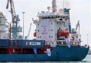 إسرائيل تنقل شاحنات سفينة مساعدات قدمتها تركيا إلى قطاع غزة