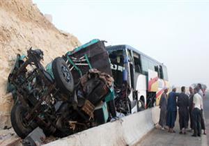 ارتفاع عدد المصابين في حادث أتوبيسي القطامية إلى 49 ومصرع 5 أشخاص