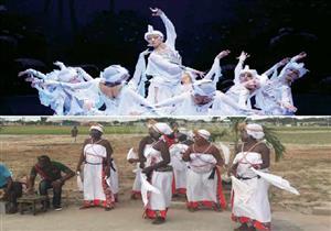 """بالصور .. """"بحيرة البجع"""" الإفريقية ورقصة """"ياموسوكرو"""" فى كواليس اليوم الرابع لكاس الأمم"""