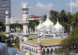 بالفيديو والصور: مسجد جامك.. من أقدم مساجد كوالالمبور بماليزيا