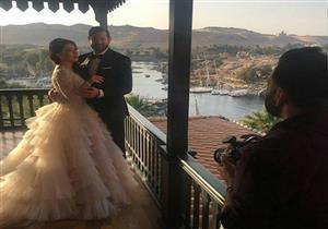 بالفيديو - كيف احتفلت كندة علوش بزفافها