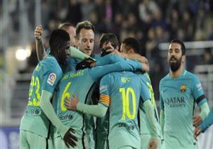 أهداف (إيبار 0 - برشلونة 4)