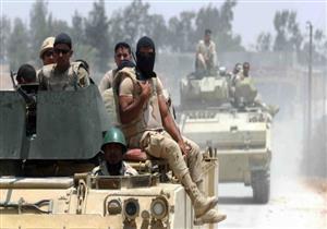 الجيش: مقتل 3 تكفيريين وضبط 74 مشتبها به في شمال سيناء