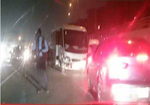 """مصرع وإصابة ٣ شرطيين في حادث بـ""""القاهرة- السويس"""" الصحراوي"""
