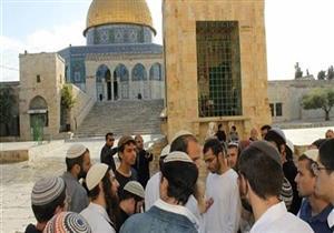 مستوطنون يهود يقتحمون المسجد الأقصى ويؤدون طقوساً تلمودية