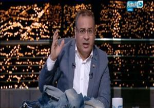 """جابر القرموطي يظهر ببنطال """"مقطع"""" على الهواء- فيديو"""