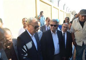 """محافظ قنا ورئيس """"القابضة لمياه الشرب"""" يفتتحان عددًا من المشروعات الخدمية"""