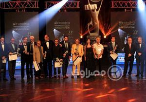 18 صورة ترصد حفل ختام مهرجان الإسكندرية السينمائي