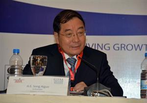 السفير الصيني يشرح أهمية مشروعات بلاده في العاصمة الإدارية الجديدة