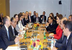 سحر نصر تبحث مع البنك الدولي دعم المرحلة الثانية من مشروع الصرف الصحي